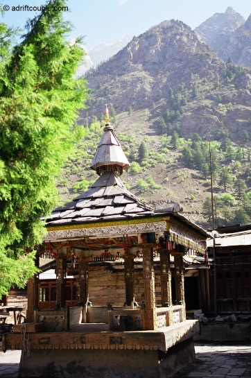 Temple complex in Batseri village, Sangla Valley, Kinnaur