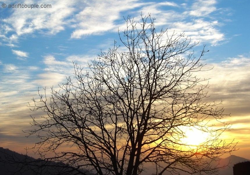 Sunrise at Binsar, Kumaon Hills, Uttarakhand
