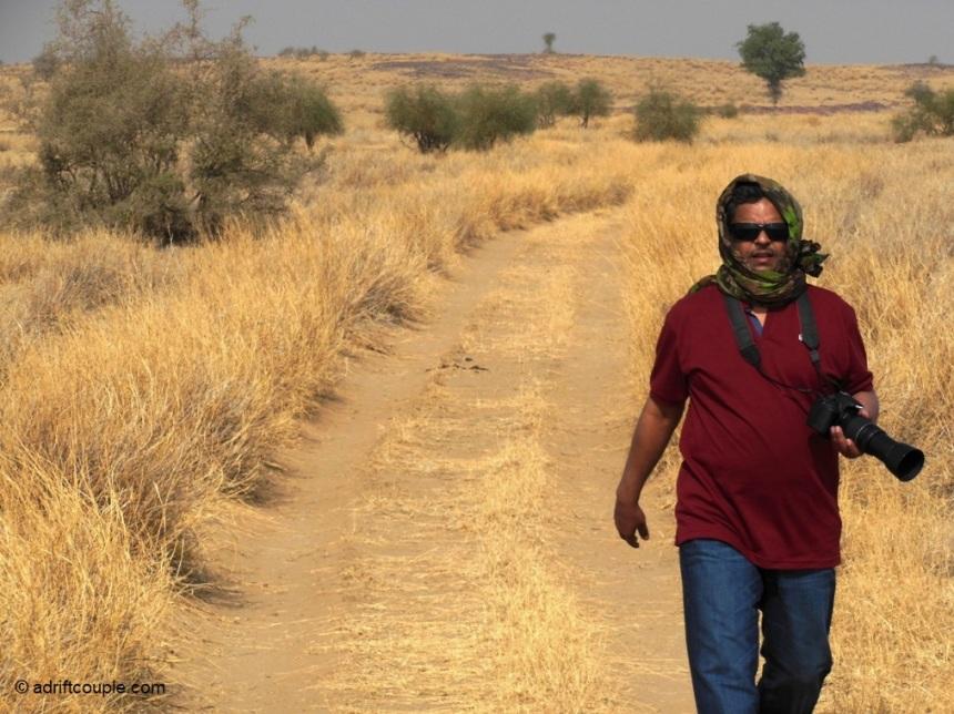 Achal in DNP Jaisalmer