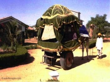 Camel Cart at Pushkar