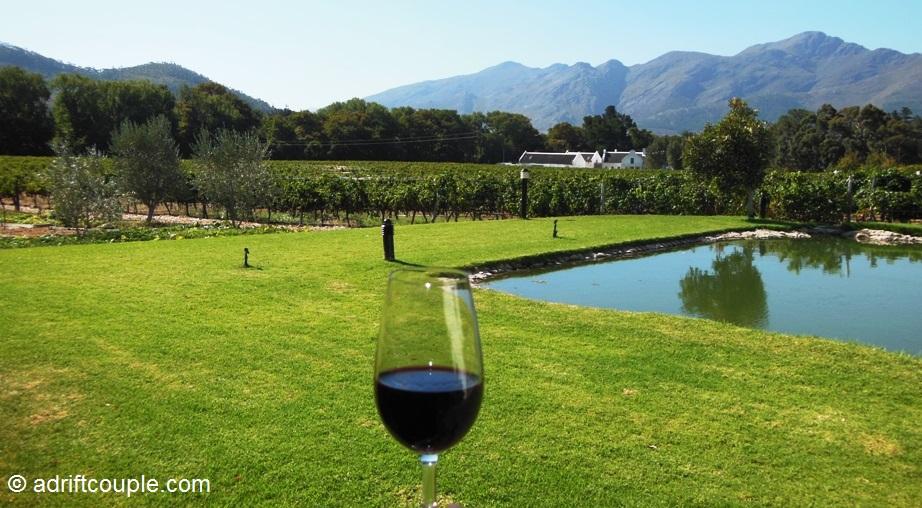 Holden Manz Wine Estate, Franschhoek, Western Cape, South Africa.