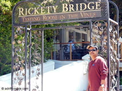 Rickety Bridge, Franschhoek, Western Cape.