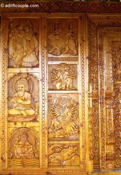 Narkanda Hatu Temple Carvings
