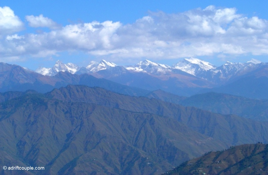 Stupendous views of the Himalayan ranges from Rohru