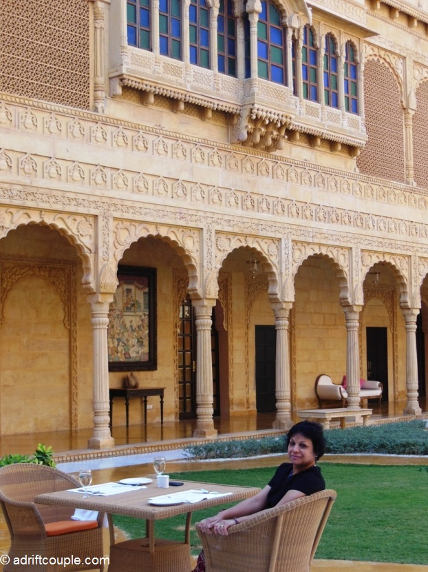 The regal Suryagarh Palace near Jaisalmer
