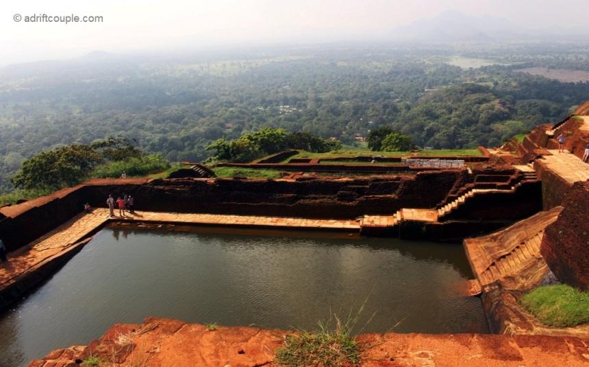 Infinity Pool at Lion Rock, Sigiriya, Sri Lanka