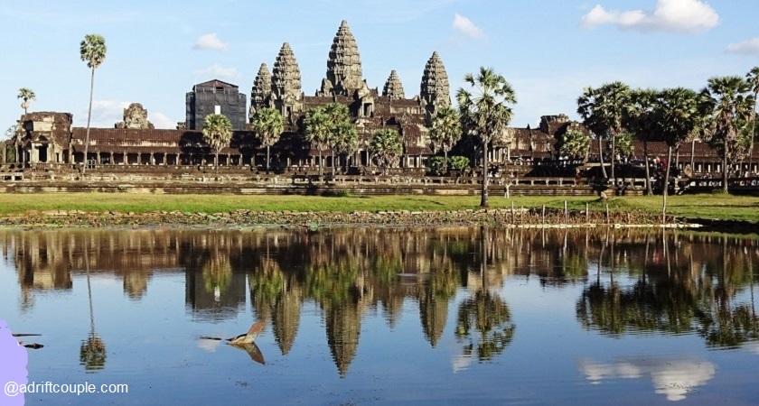 Angkor Wat in Siem Reap, Cambodia.