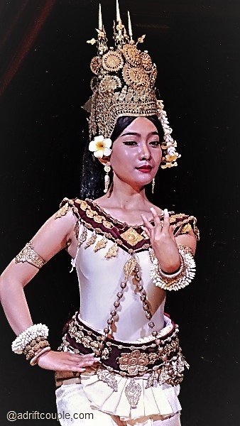 Apsara Theatre at Siem Reap, Cambodia - traditional Khmer culture through its classical dance and orchestral music.