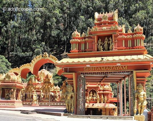 Seetha Amman Temple in Sri Lanka.