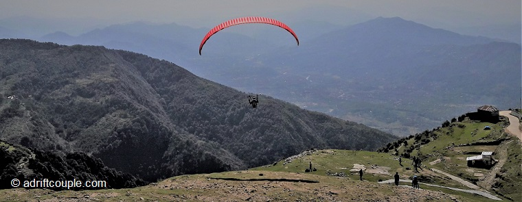 This is Billing at 8500 feet, the take off location for gliders