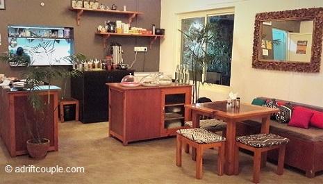 Interiors of Byron Bay Cafe, Bir, Kangra.