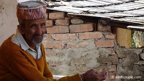 Gunehar Village Man