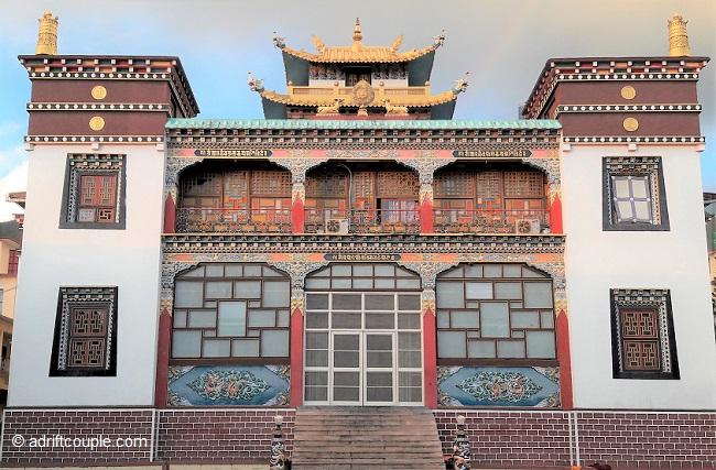 Ngagyur monastery in Bir.