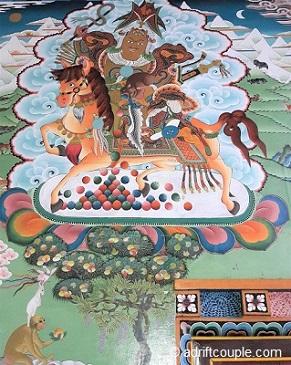 Ngagyur Monastery Painting