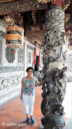 Khoo Kongsi Carved Pillar