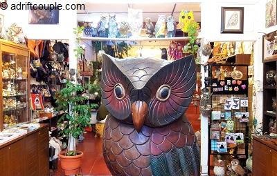Owl Shop Cannon Street, Penang