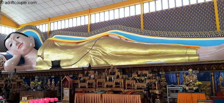 Reclining Buddha Wat Chayamangkalaram Penang