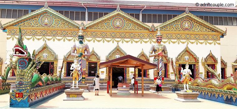 Wat Chaiyamangalaram Thai Buddhist Temple, Penang