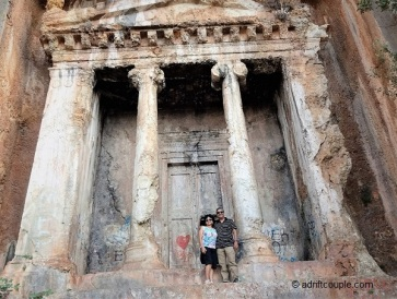 Amyntas Rock Tomb Turkey