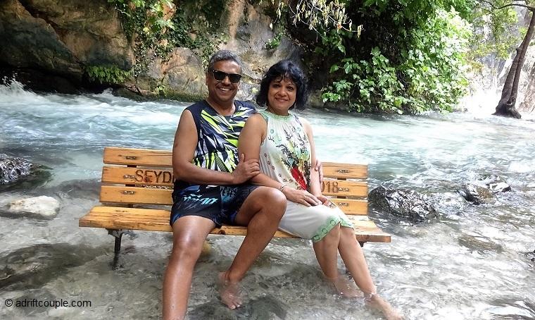Saklikent Gorge River